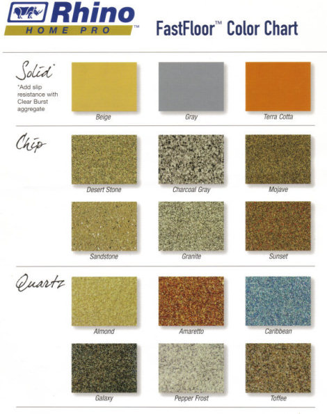 Rhino Liner Colors >> Rhino Home Pro Products At Rhino Linings Of Alliance